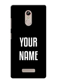Gionee S6S Your Name on Phone Case
