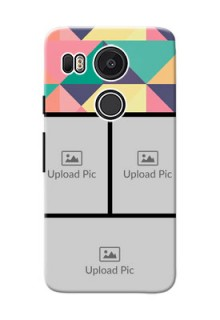 Google Nexus 5X Bulk Picture Upload Mobile Case Design