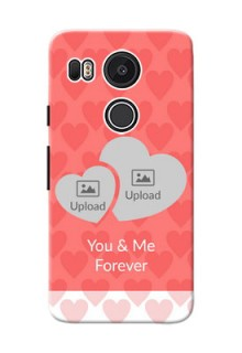 Google Nexus 5X Couples Picture Upload Mobile Cover Design