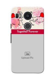 Google Nexus 5X Just You And Me Mobile Back Case Design