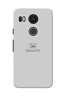 Google Nexus 5X Full Picture Upload Mobile Back Cover Design