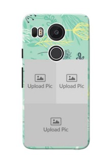 Google Nexus 5X family is forever design with floral pattern Design Design