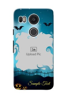 Google Nexus 5X halloween design with designer frame Design