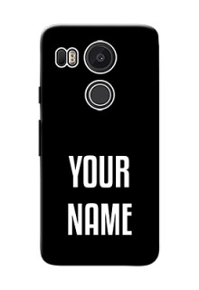Google Nexus 5X Your Name on Phone Case