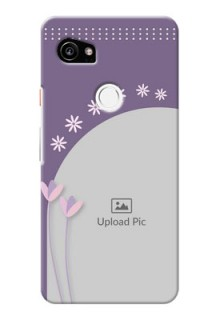 Google Pixel 2 XL Phone covers for girls: lavender flowers design