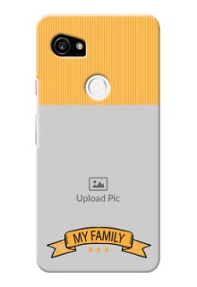 Google Pixel 2 XL Personalized Mobile Cases: My Family Design