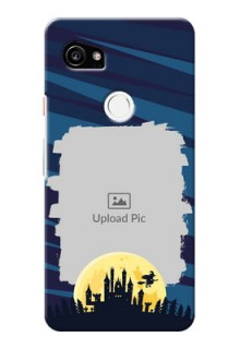 Google Pixel 2 XL Back Covers: Halloween Witch Design