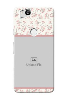 Google Pixel 2 Back Covers: Premium Floral Design