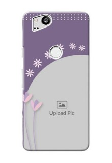 Google Pixel 2 Phone covers for girls: lavender flowers design
