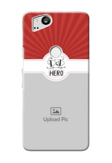Google Pixel 2 custom mobile phone cases: My Dad Hero Design