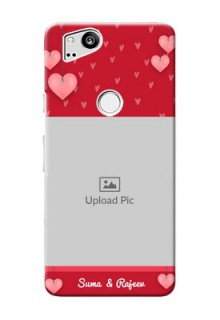 Google Pixel 2 Mobile Back Covers: Valentines Day Design