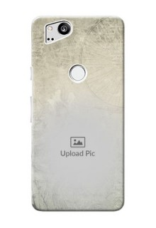 Google Pixel 2 custom mobile back covers with vintage design