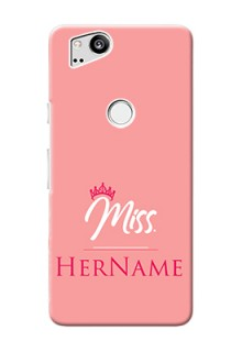 Google Pixel 2 Custom Phone Case Mrs with Name