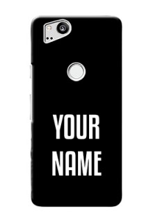Google Pixel 2 Your Name on Phone Case