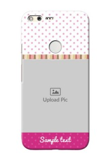Google Pixel XL custom mobile cases: Cute Girls Cover Design