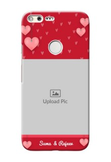 Google Pixel XL Mobile Back Covers: Valentines Day Design