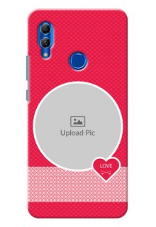 Honor 10 Lite Mobile Covers Online: Pink Pattern Design