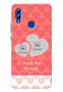 Honor 10 Lite personalized phone covers: Couple Pic Upload Design