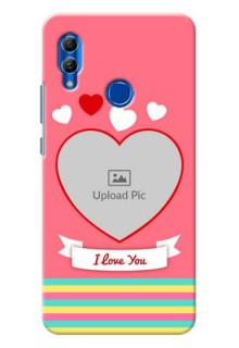 Honor 10 Lite Personalised mobile covers: Love Doodle Design
