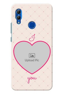 Honor 10 Lite Personalized Mobile Covers: Heart Shape Design