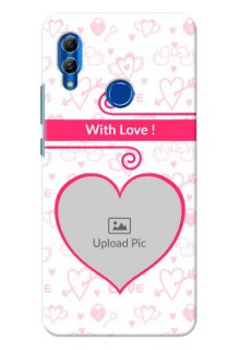 Honor 10 Lite Personalized Phone Cases: Heart Shape Love Design