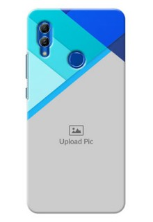 Honor 10 Lite Phone Cases Online: Blue Abstract Cover Design