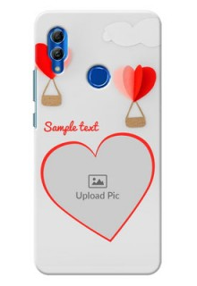 Honor 10 Lite Phone Covers: Parachute Love Design