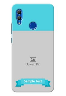 Honor 10 Lite Personalized Mobile Covers: Simple Blue Color Design
