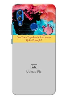Honor 10 Lite Mobile Cases: Quote with Acrylic Painting Design