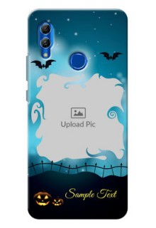 Honor 10 Lite Personalised Phone Cases: Halloween frame design