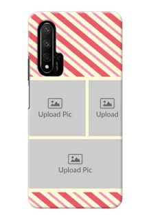 Honor 20 Back Covers: Picture Upload Mobile Case Design