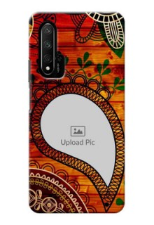 Honor 20 custom mobile cases: Abstract Colorful Design