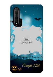 Honor 20 Personalised Phone Cases: Halloween frame design