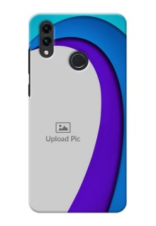 Honor 8C custom back covers: Simple Pattern Design