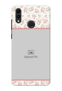 Honor 8C Back Covers: Premium Floral Design