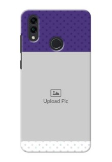 Honor 8C mobile phone cases: Violet Pattern Design