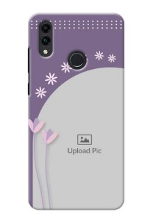Honor 8C Phone covers for girls: lavender flowers design