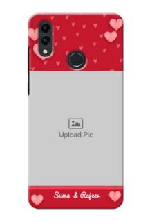 Honor 8C Mobile Back Covers: Valentines Day Design