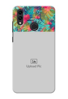 Honor 8C Personalized Phone Cases: Watercolor Floral Design
