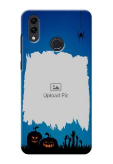 Honor 8C mobile cases online with pro Halloween design
