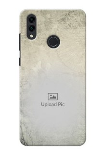Honor 8C custom mobile back covers with vintage design