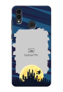 Honor 8C Back Covers: Halloween Witch Design