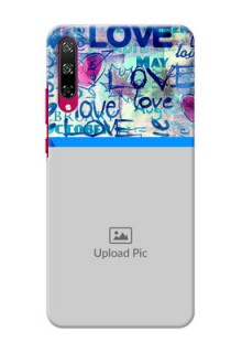 Honor Play 3 Mobile Covers Online: Colorful Love Design