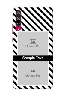 Honor Play 3 Back Covers: Black And White Stripes Design