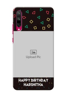 Honor Play 3 custom mobile cases with confetti birthday design