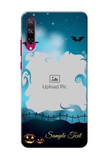 Honor Play 3 Personalised Phone Cases: Halloween frame design