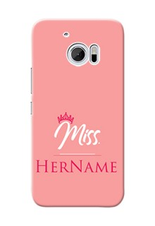 Htc Desire 10 Custom Phone Case Mrs with Name