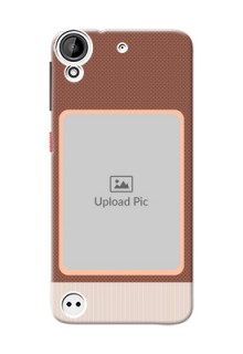 HTC Desire 530 Simple Photo Upload Mobile Cover Design