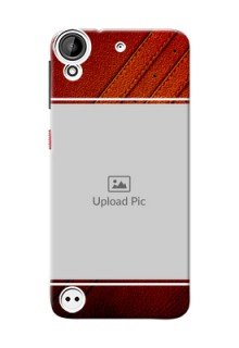 HTC Desire 530 Leather Design Picture Upload Mobile Case Design