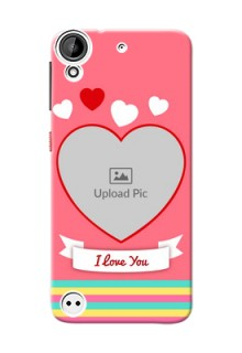 HTC Desire 530 I Love You Mobile Cover Design
